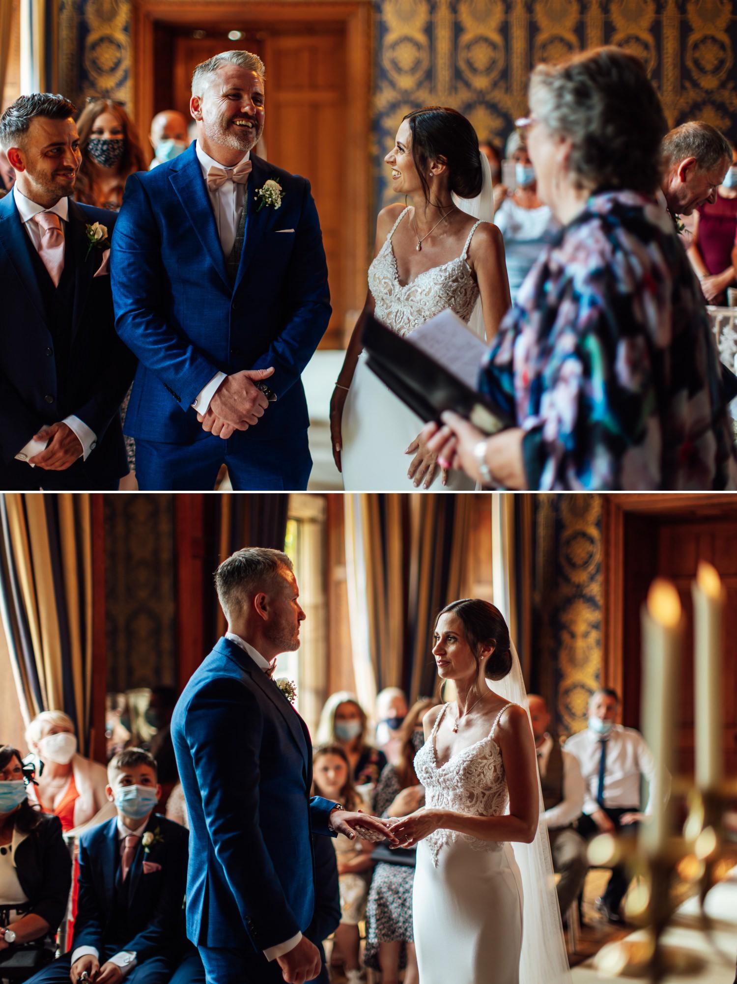 wedding photography in Soughton Hall