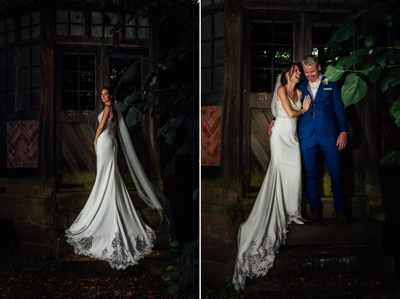 wedding portraits at Soughton Hall